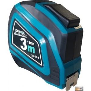 Metr svinovací 2brzdy guma 3mx19mm,X3403