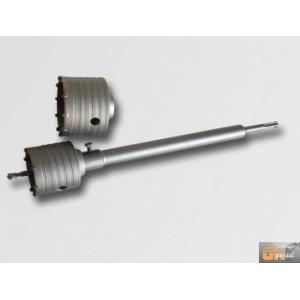 Korunkový vrták SDSplus 65+80/350mm+tuba/sada,P11830