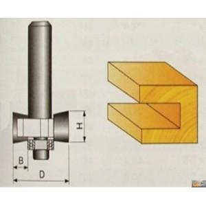 JOBIprofi Tvarová fréza do dřeva 9.4x12mm, P70307