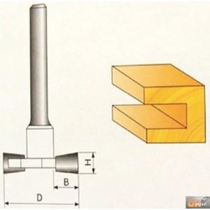 JOBIprofi Tvarová fréza do dřeva 12x9.4mm, P70807