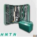 Montážní basa na nářadí kovová vybavená 68dílů,HA106