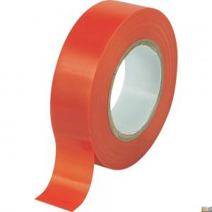 Izolační páska elektrikářská 19mmx0,13mmx10m červená, DR-5913C