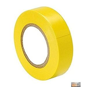 Izolační páska elektrikářská 19mmx0,13mmx10m žlutá, DR-5913Z