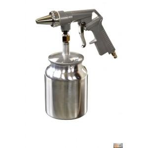 Pískovací pistole se spodní kovovou nádobkou PS4,DR-2050