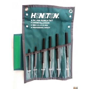 Sada průbojníků HONITON 6ks 2-8mm, H3934