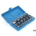 """Sada hlavic SPLINE XZN 1/2"""" 19ks 8-32mm,FT1912"""