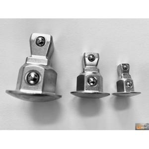 """Sada adaptérů pro ráčnové klíče 3ks HONITON 1/4""""-3/8""""-1/2"""", K0301"""