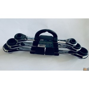 Sada speciálních ráčnových klíčů 8-19mm 3ks, X0358