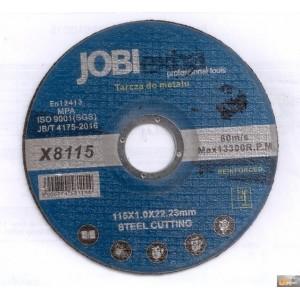 Kotouč řezný na kov 115x1.0x22.2mm, X8115