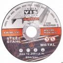 Kotouč řezný na kov 125x1.6, FTI12516