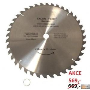 Pilový kotouč na dřevo SKplátky 450x20-32x40zubů, TCT45040