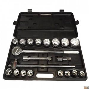 "Sada hlavic 3/4"" 19-50 mm-6hran-21 dílů,FT780578"
