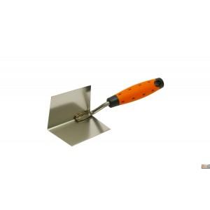 Lžíce rohová vyhlazovací nerezová plast 60x80mm, 122504-2KP