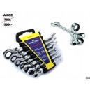 Sada ráčnových klíčů kloubových 7ks, F0359