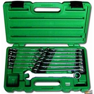 Sada očkopl. klíčů 6-19 14dílů plastový kufr Honiton, H0114