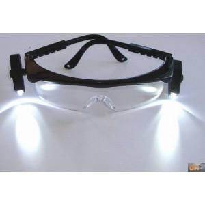 Brýle ochranné LED diody, X1043