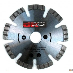 JOBIprofi Kotouč diamantový turbo segment. laser 115x2,4x22,2, 11214