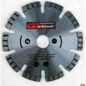 JOBIprofi Kotouč diamantový turbo segment. laser 125x2,4x22,2, 11215