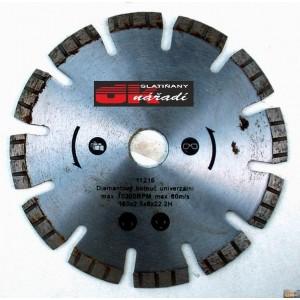 JOBIprofi Kotouč diamantový turbo segment. laser 150x2,5x22,2, 11216