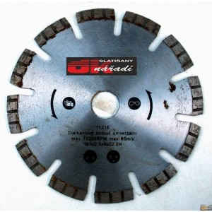 Kotouč diamantový turbo segment. laser 150x2,5x22,2, 11216