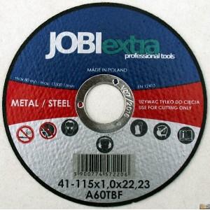 JOBIextra Kotouč řezný na kov 115x1.0, X7220