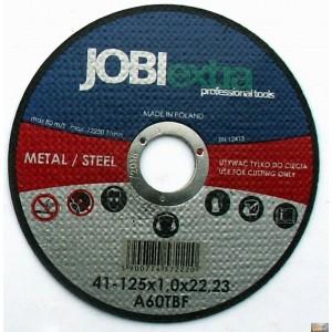 JOBIextra Kotouč řezný na kov 125x1.0, X7222