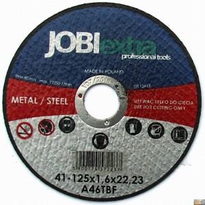 JOBIextra Kotouč řezný na kov 125x1.6, X7223