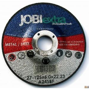 JOBIextra Kotouč brusný na kov 125x6.0, X7225